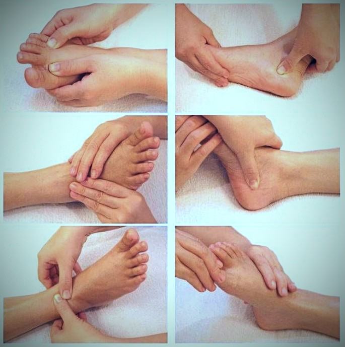 Foot Massage Steps