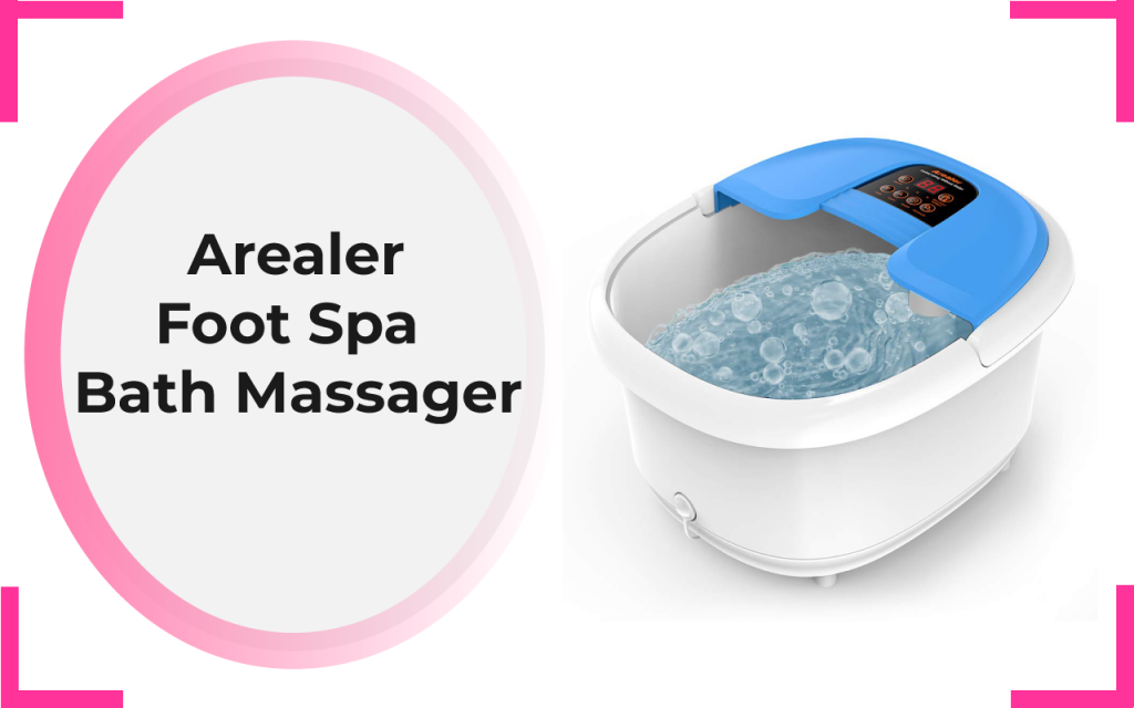 Arealer Foot Spa & Bath Massager