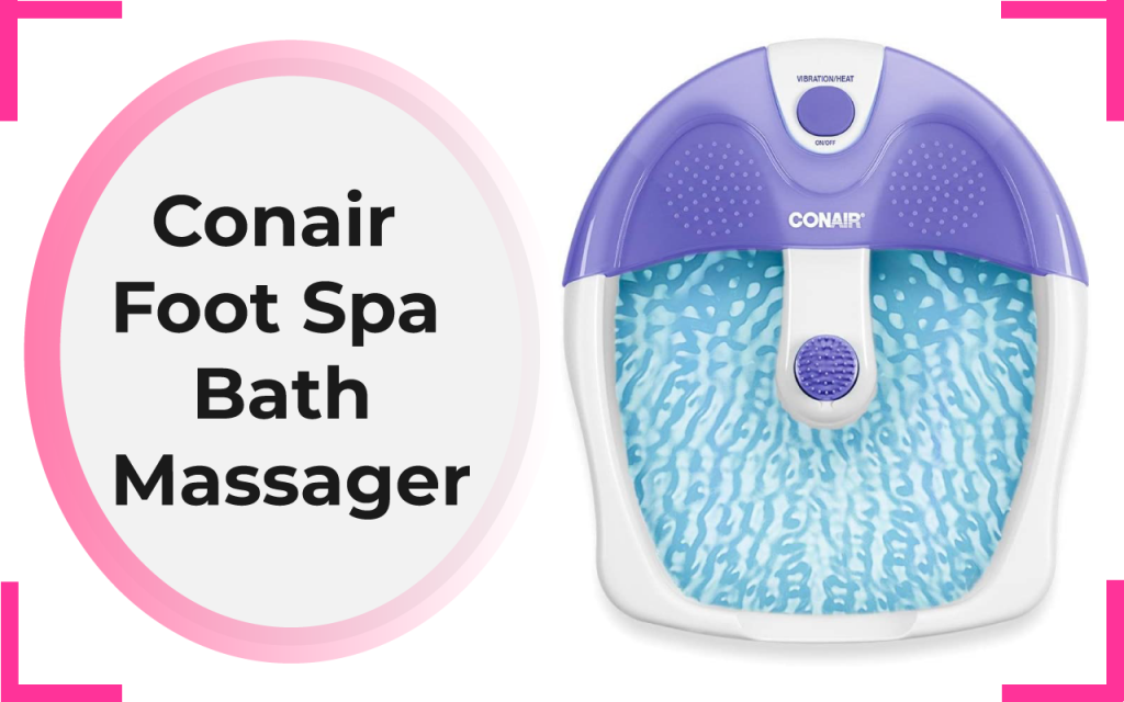 Conair Foot Spa Bath Massager