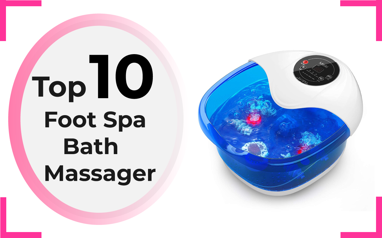 Foot Spa Bath Massager
