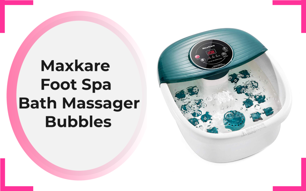 Maxkare Foot Spa Bath Massager-Bubbles